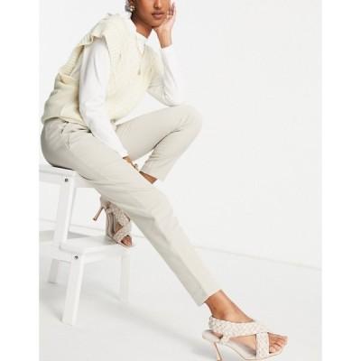 ヴィラ Vila レディース ボトムス・パンツ smart trousers in grey