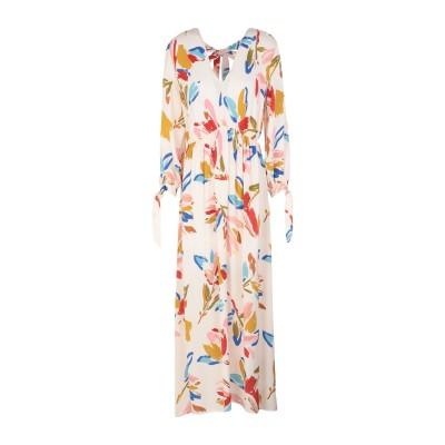 OTTOD'AME 7分丈ワンピース・ドレス ライトピンク 44 レーヨン 100% 7分丈ワンピース・ドレス