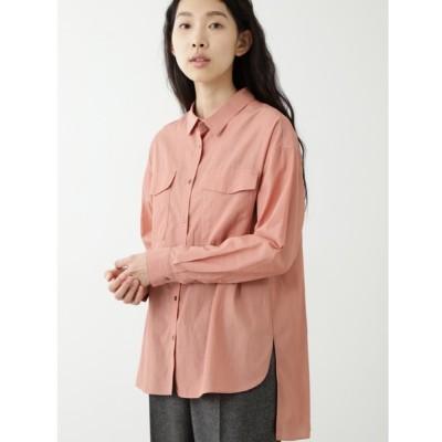 HUMAN WOMAN / キュプラ綿ブロードシャツ WOMEN トップス > シャツ/ブラウス