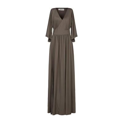 BY MALINA ロングワンピース&ドレス ミリタリーグリーン XS ポリエステル 95% / ポリウレタン 5% ロングワンピース&ドレス