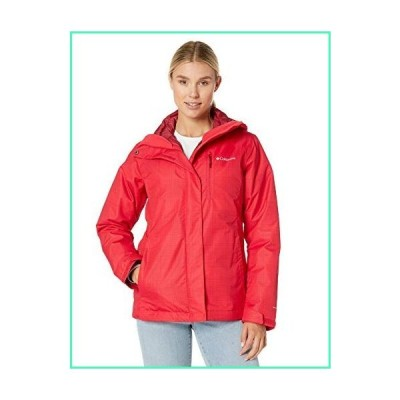 Columbia Women's Whirlibird Iv Interchange Jacket, Red Lily Simple Lines, Small並行輸入品