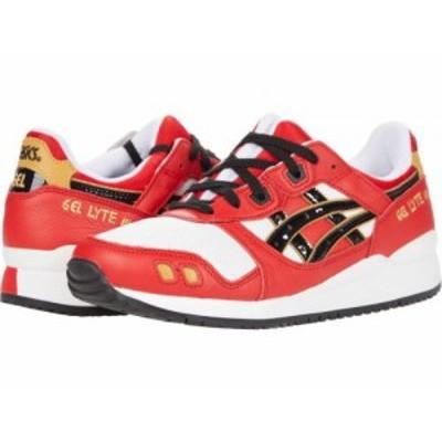 ASICS Tiger アシックス メンズ 男性用 シューズ 靴 スニーカー 運動靴 Gel-Lyte III Og Classic Red/Black【送料無料】