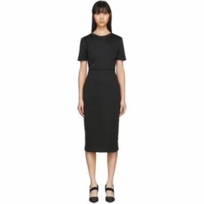 フェンディ Fendi レディース ワンピース ワンピース・ドレス Black Forever  Short Sleeve Dress Black