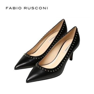 ファビオルスコーニ パンプス スタッズ CERNIA ファビオ 靴
