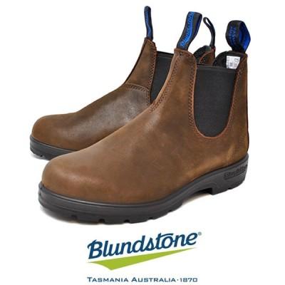 ブランドストーン サイドゴアブーツ BLUNDSTONE THERMAL 1477 サーマル 防水 レインブーツ 靴 梅雨 レディース メンズ アンティークブラウン