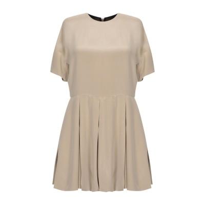 ヴァレンティノ VALENTINO ミニワンピース&ドレス サンド 40 シルク 100% ミニワンピース&ドレス