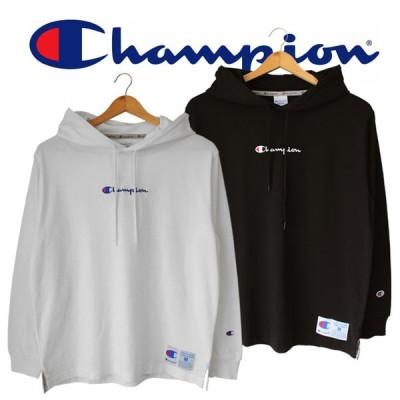Champion チャンピオン メンズ 長袖 ロンT ロングスリーブフードTシャツ