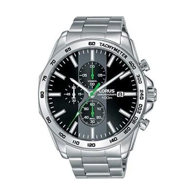 Lorus Mens Chronograph Quartz Watch with Stainless Steel Strap RM385EX9 並行輸入品