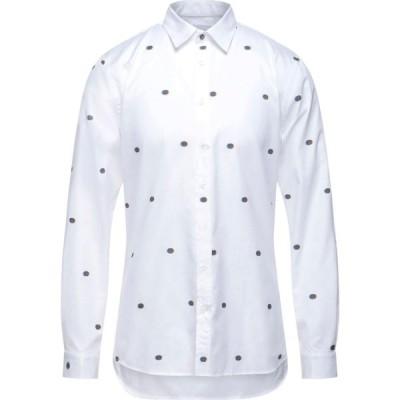 ガッザリーニ GAZZARRINI メンズ シャツ トップス patterned shirt White
