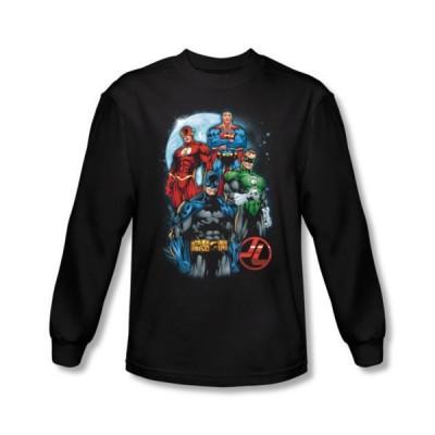 スゥエット パーカー トレーナージャスティス リーグJustice League The Four メンズ ライセンス DC Comics アダルト 長袖 シャツ S-XXL