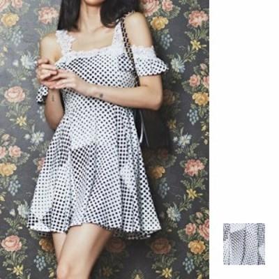 韓国 ファッション レディース ワンピース パーティードレス ショート ミニ丈 夏 春 パーティー ブライダル naloG062 結婚式 お呼ばれド