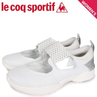 le coq sportif ルコック スポルティフ LA セーヌ スニーカー レディース LA SEINE PF RUN RC ホワイト 白 QL3PJC41WH