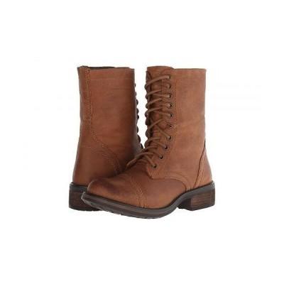 Steve Madden スティーブマデン レディース 女性用 シューズ 靴 ブーツ レースアップブーツ Troopa2.0 Combat Boot - Cognac Leather