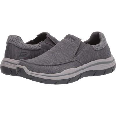 スケッチャーズ SKECHERS メンズ スニーカー シューズ・靴 Relaxed Fit Expected 2.0 - Andro Grey