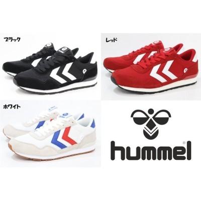 メンズ スニーカー ヒュンメル hummel REFLEX LOW HM65307 2001 BLACK 3425 RED 9001 WHITE