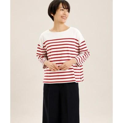 I.T.'S. international / パネルボーダーバスクTシャツ