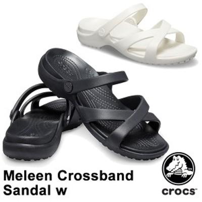【送料無料】クロックス(CROCS) メレーン クロスバンド サンダル ウィメン(meleen crossband sandal w)レディース サンダル[BB]【30】