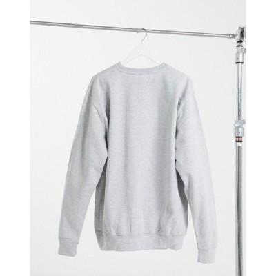 アナー レディース パーカー・スウェットシャツ アウター HNR LDN cherub sweatshirt in gray Sports gray