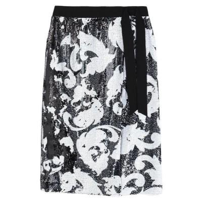 MARCO BOLOGNA ひざ丈スカート  レディースファッション  ボトムス  スカート  ロング、マキシ丈スカート ブラック