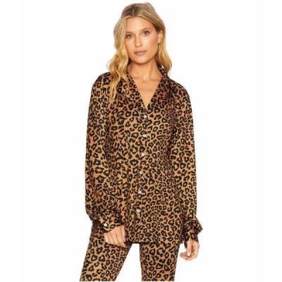ビーチライオット ニット&セーター アウター レディース Mary Blouse Leopard