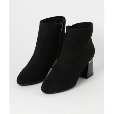 Bridget Birkin / 65mmべっ甲柄ヒールサイドジップブーツ (573006) WOMEN シューズ > ブーツ