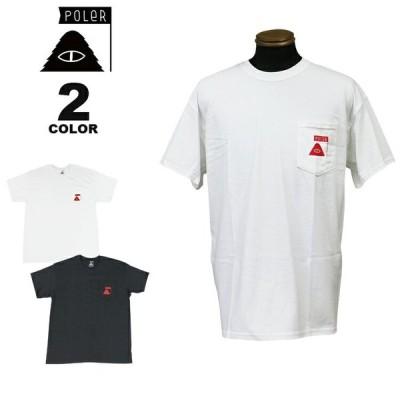 SALE ポーラー Tシャツ POLER SUMMIT POCKET S/S T-SHIRTS 半袖 TEE ポケット メンズ レディース ユニセックス 全2色 M-XL