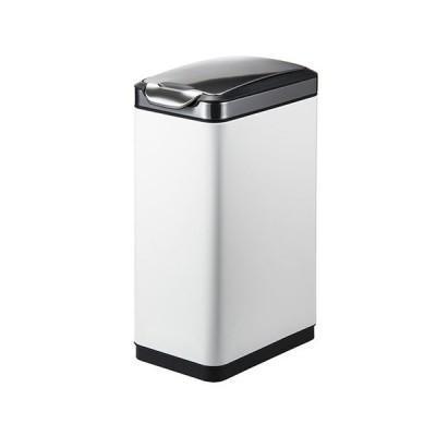 【期間限定30%OFF】4/18~4/21 23:59まで ゴミ箱 30L ホワイト ふた付き 角型 おしゃれ かわいい 清潔感 ごみ箱 屑入れ ダストボックス 1年保証 EK9177MP-30L-WH