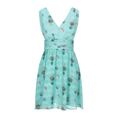COMPAGNIA ITALIANA ミニワンピース&ドレス ライトグリーン 40 ポリエステル 100% ミニワンピース&ドレス