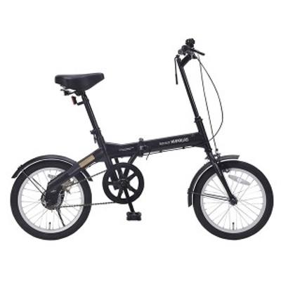 マイパラス M-100-BK ブラック [折りたたみ自転車 (16インチ)]