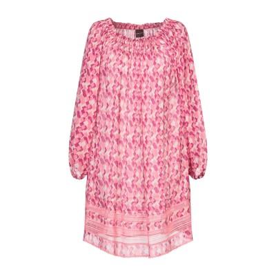 アトス ロンバルディーニ ATOS LOMBARDINI ミニワンピース&ドレス フューシャ L レーヨン 100% ミニワンピース&ドレス