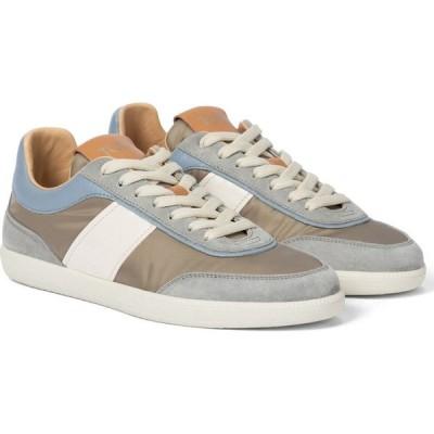トッズ Tod's レディース スニーカー シューズ・靴 leather sneakers Multicolor Beige Blue