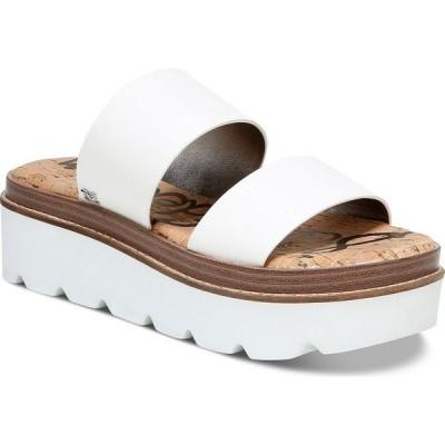 サム エデルマン Sam Edelman レディース サンダル・ミュール シューズ・靴 Raul Double-Banded Sporty Sandals White