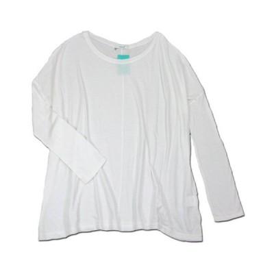 cobano (コバノ) SOFT DOLMAN レディース ドルマンスリーブ Tシャツ / WHITE