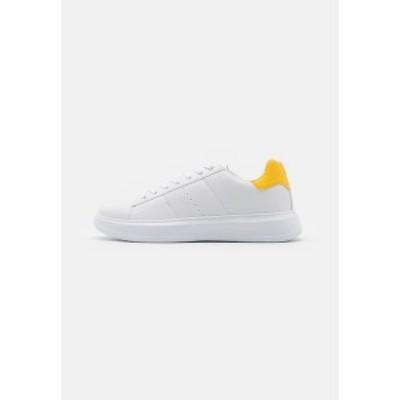 ユアターン メンズ スニーカー シューズ UNISEX - Trainers - white/yellow white/yellow