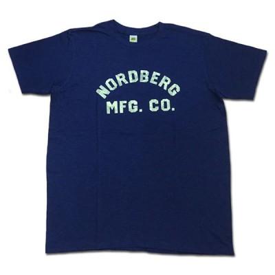 メール便可 Velva Sheen ベルバシーン NORDBERG TEE Tシャツ NAVY ネイビー カットソー MadeinUSA アメリカ製 162183
