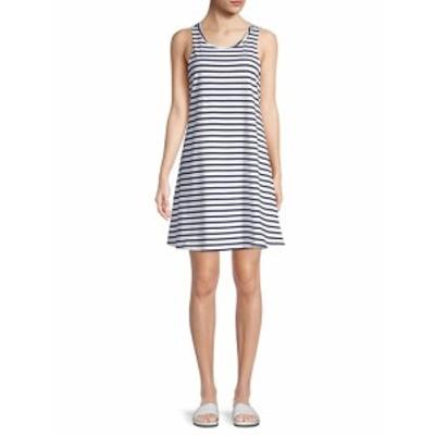 ビーチランチラウンジ レディース ワンピース Stripe Tank Dress