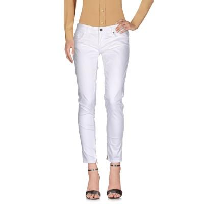 リュー ジョー LIU •JO パンツ ホワイト 28 コットン 98% / ポリウレタン 2% パンツ