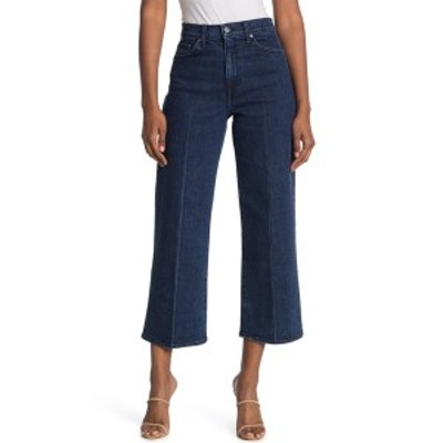 ボールドウィンデニム レディース デニムパンツ ボトムス Wide Leg Cropped Jeans AURA