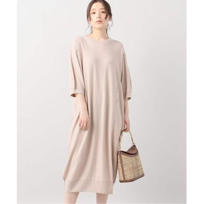レディース ヴェルメイユ パー イエナ 【LEMAIRE/ルメール】ニットドレス ピンク フリー