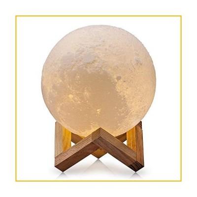 【☆送料無料☆新品・未使用品☆】Aced Moonランプ、3d印刷LED Moon Nightライトランプ、タッチコントロール