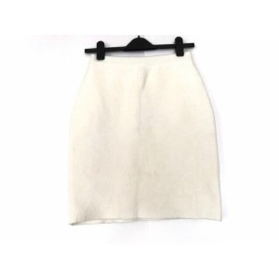 アプワイザーリッシェ Apuweiser-riche スカート サイズ2 M レディース アイボリー ウエストゴム【中古】