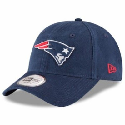 New Era ニュー エラ スポーツ用品  New Era New England Patriots Navy Ne Core Fit 49FORTY Fitted Hat