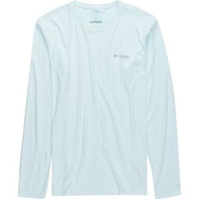 コロンビア メンズ シャツ トップス PFG Zero Rules Long-Sleeve Shirt White