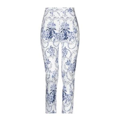 ブルーガール ブルマリン BLUGIRL BLUMARINE パンツ ホワイト 40 97% コットン 3% ポリウレタン パンツ