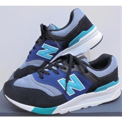 『ニューバランス』NB人気の クラシック ランニング CM997H ブラック/ヴァーダイト