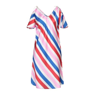 メルシー ..,MERCI ミニワンピース&ドレス レッド 46 ポリエステル 100% ミニワンピース&ドレス