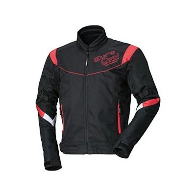 南海部品 NANKAI(ナンカイ) EUROCOOL ジャケット ブラック/レッド サイズLL バイク/オートバイ SDW4124A-LL