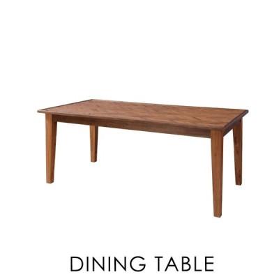 ダイニングテーブル 幅180cm 6人用 おしゃれ 木製 食卓机 アンティーク 安い