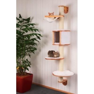 【ドイツKerbl】壁取り付け専用キャットタワー ドロミット Dolomit cat tre(中古品)