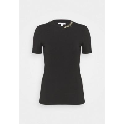 パトリツィア ペペ Tシャツ レディース トップス MAGLIA - Basic T-shirt - nero